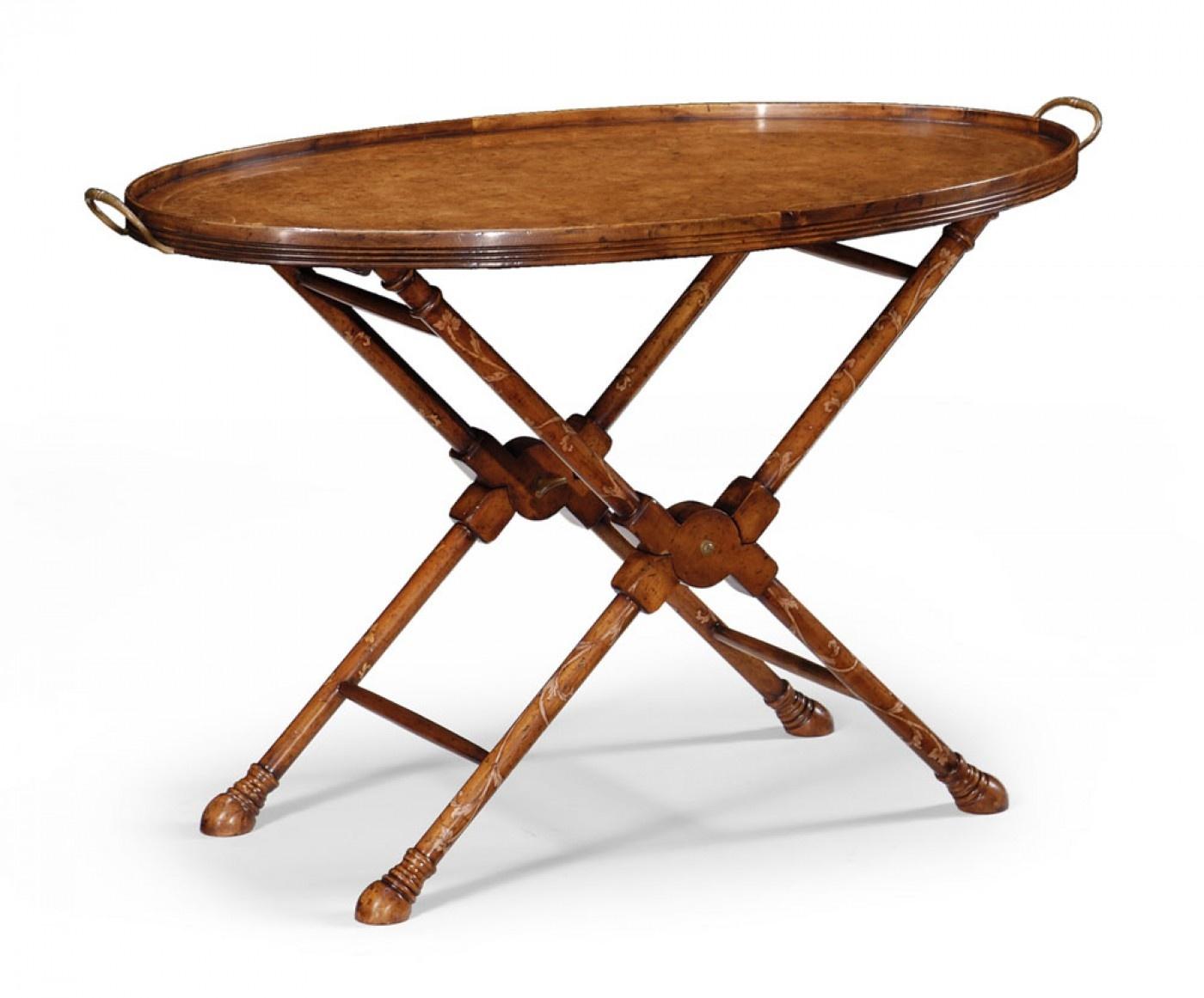 Walnut Tray Table Butler Tray Swanky Interiors