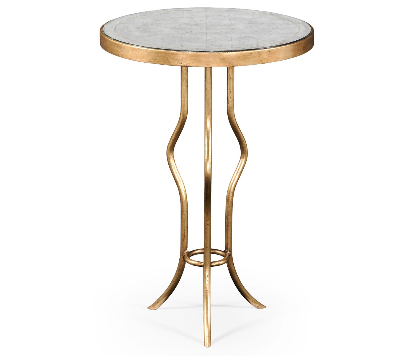 glass side table round swanky interiors