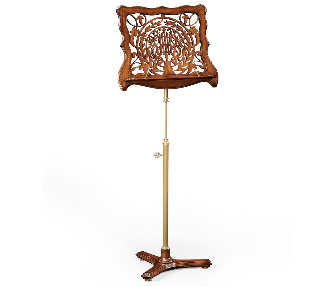 Adjustable wooden music stand with fretwork swanky interiors for Decorative accessories