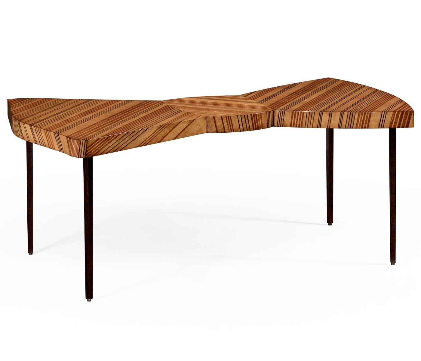 Jordan Alexander Interior Design Furniture ~ Designer bow tie coffee table swanky interiors