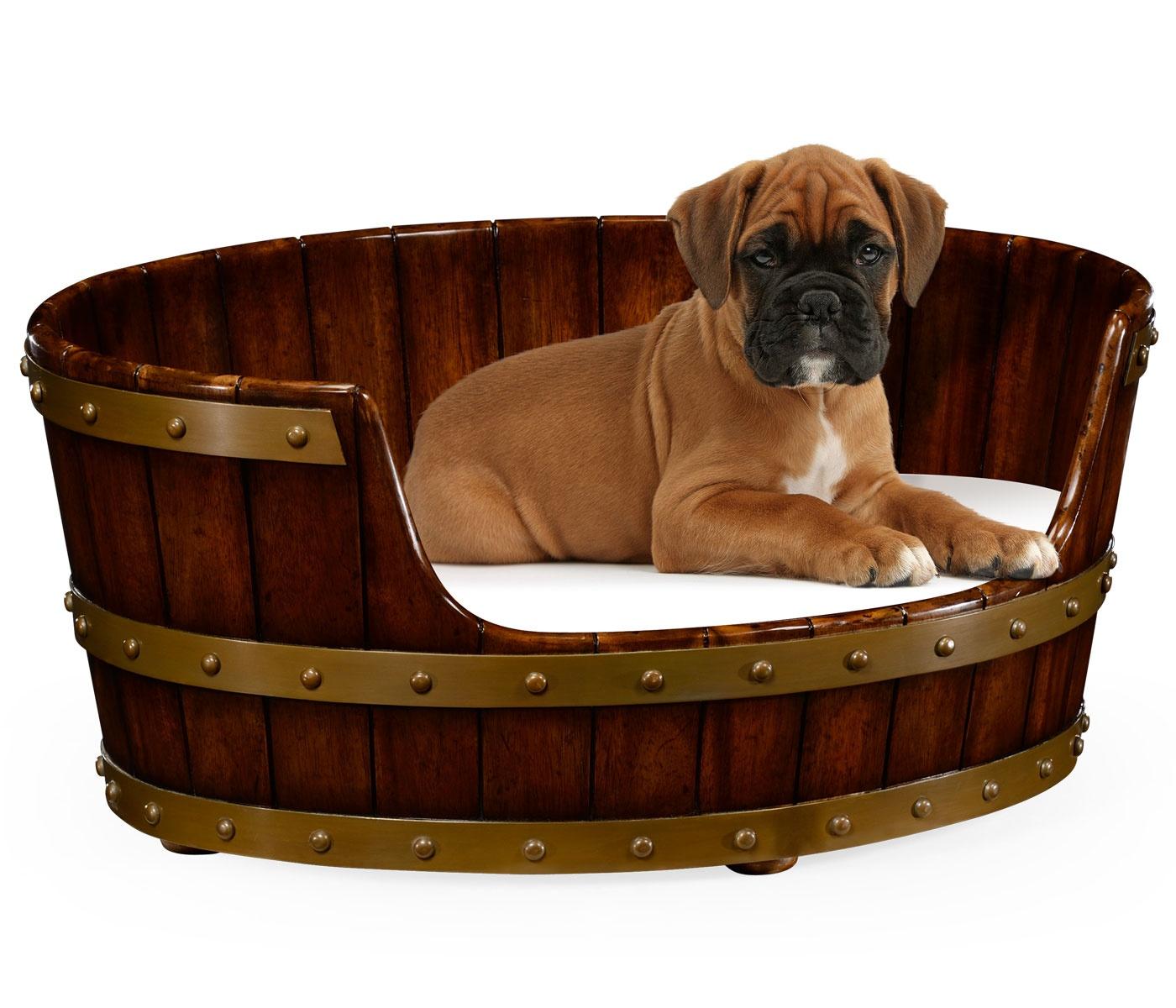 luxury dog bed medium size 28 39 39 swanky interiors. Black Bedroom Furniture Sets. Home Design Ideas