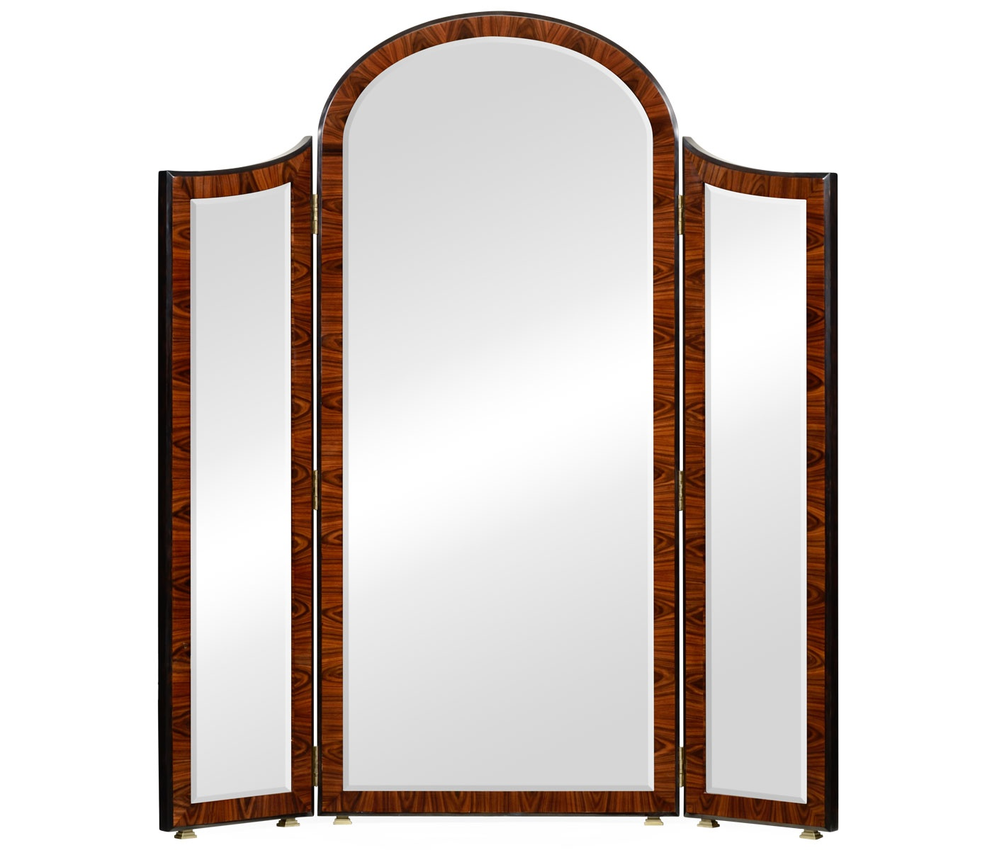 art deco era furniture. Jonathan Charles Furniture Art Deco Style Full Length Triple Dressing Mirror, High Lustre Era